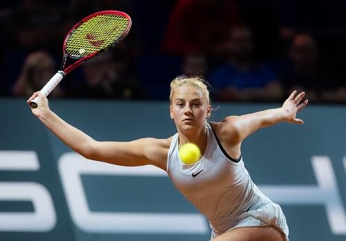 Очередная сенсация отКостюк— WTA Premier Штутгарт