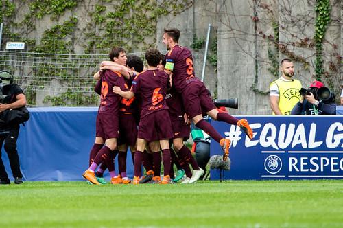 «Барселона» обыграла «Челси» ивыиграла юношескую Лигу Чемпионов
