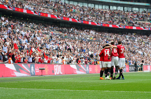 «Манчестер Юнайтед» вырвал победу у«Арсенала» всамой концовке матча