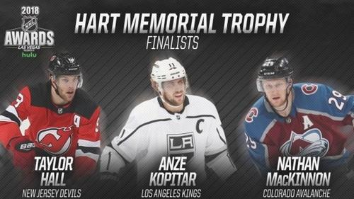 ВНХЛ определили номинантов наприз самому ценному хоккеисту стабильного чемпионата