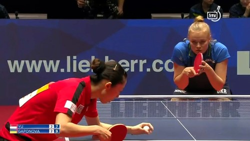 Настольный теннис. Женская сборная Украины вышла вплей-оффЧМ