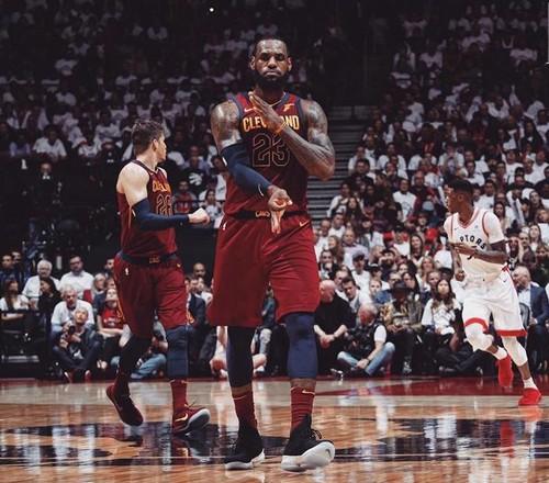 «Кливленд» победил «Торонто» вполуфинальной серии НБА