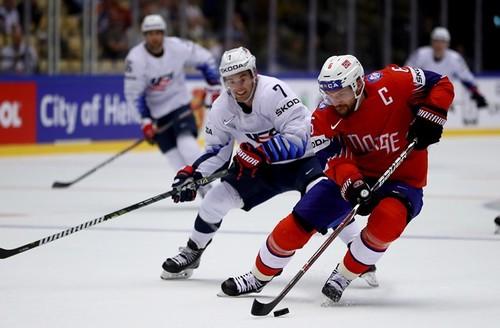 Онлайн матча Норвегия— США начемпионате мира похоккею