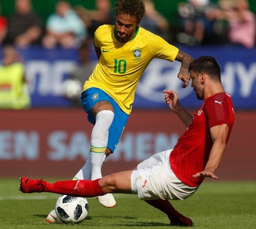 Неймар попал встартовый состав сборной Бразилии наматч сАвстрией