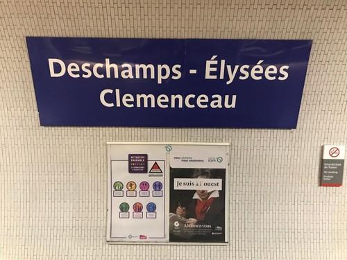 Встолице франции переименовали станции метро вчесть победы наЧМ
