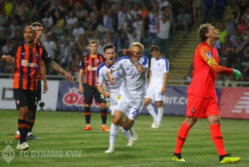 «Динамо» одержало четвертую подряд победу срезультатом 1:0