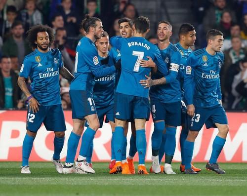 «Реал» победил «Бетис» вчемпионате Испании