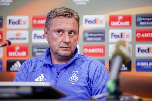 «Никакой расслабленности перед ответным матчем сАЕКом унас нет»— Александр Хацкевич