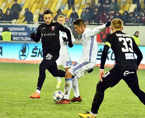 «Динамо» минимально обыграло «Верес» ипродолжает гонку за«Шахтером»