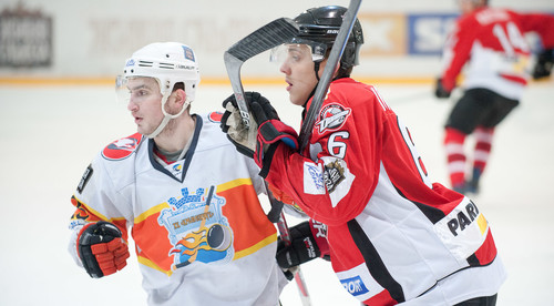 Хоккей: «Донбасс» одержал победу 1-ый матч заключительной серии УХЛ