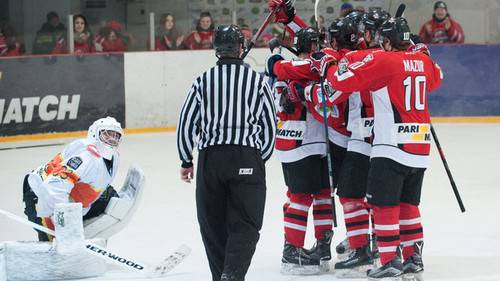 «Донбасс» одержал победу  1-ый  матч заключительной  серии УХЛ— Хоккей