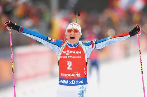 Мякяряйнен выиграла гонку преследования наэтапе Кубка мира побиатлону вТюмени