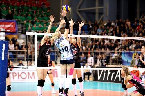 «Минчанка» уступила впервом матче финала Кубка ЕКВ