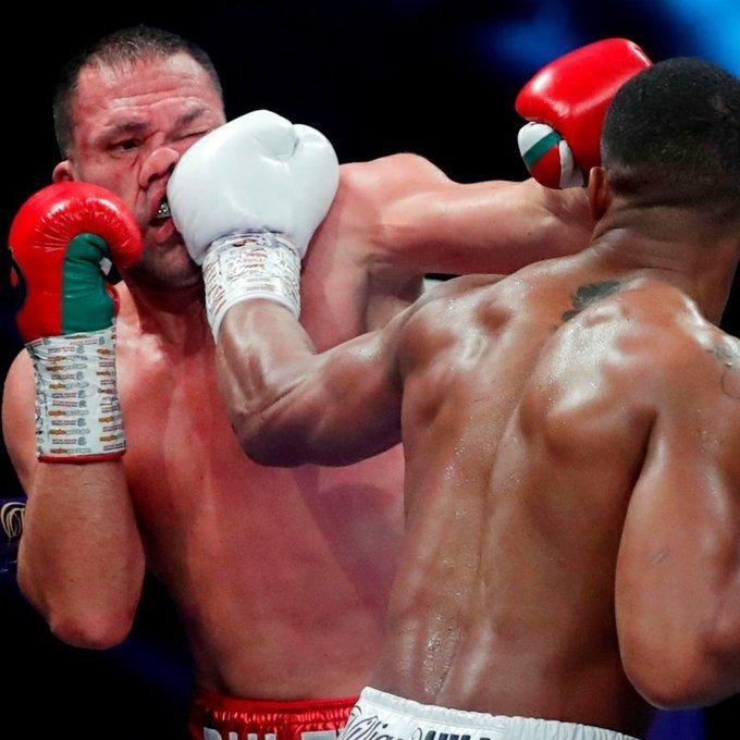 Тотальное уничтожение! Джошуа нокаутировал Пулева в 9-м раунде