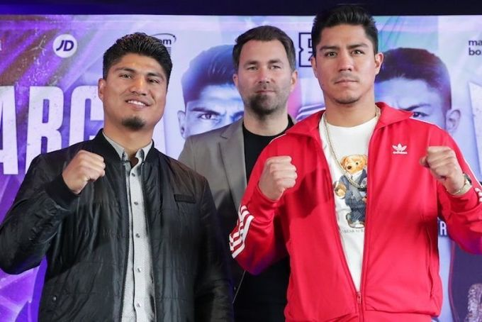 Гарсия снова будет боксировать в велтервейте. Зачем ему это?