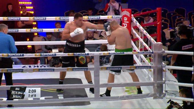 В главном бою Сиренко одержал свою 14-ю победу на профи-ринге