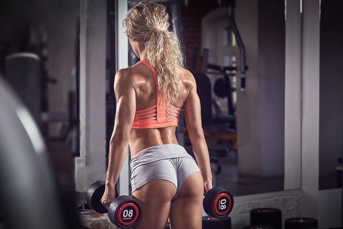 Мышцы ног и ягодиц у женщин