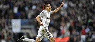Роббен дарит Реалу третье место