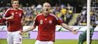 Группа 1. Португалия на последней минуте дожимает Албанию