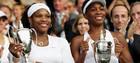 Сестры Уильямс в четвертый раз выиграли Уимблдон в паре