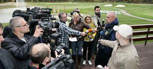 Александр Ярославский вывел Металлист на поле ... для гольфа