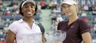 Венус Уильямс и Шарапова сыграют выставочный матч 2 января