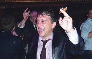 Лапорта отмечал победу в ночном клубе +ФОТО