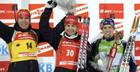 Биатлон. Результаты спринтерских гонок в Остерсунде