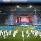 Стадион Днепра торжественно открыли
