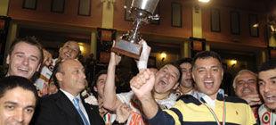 Соперник донецкого Шахтера завоевывает очередной трофей