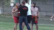 ВИДЕО ДНЯ. Матч украинской Второй лиги завершился массовой дракой