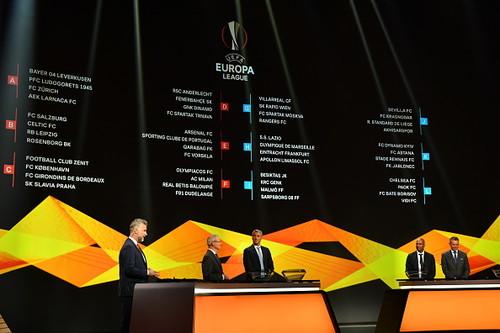 Стали известны соперники Ворсклы в групповом турнире Лиги Европы