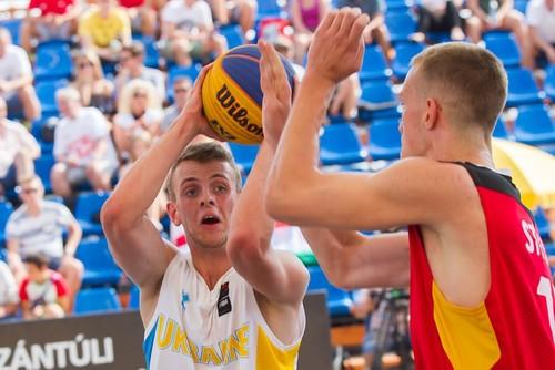 Украина U-18 уступила во втором матче чемпионата Европы 3х3