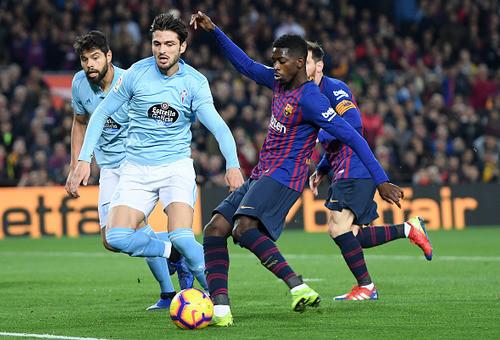 Барселона не испытала проблем в матче против Сельты