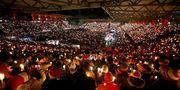 ВИДЕО ДНЯ. Ночь накануне Рождества на стадионе Униона