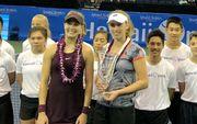 Мертенс выиграла выставочный турнир на Гавайях
