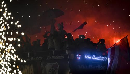 Ривер Плейт и фаны ярко отпраздновали победу в Копа Либертадорес