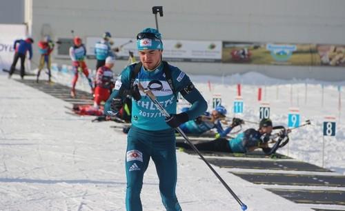 ЧУ-2018 по биатлону. Тарас Лесюк выиграл гонку преследования