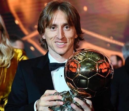 Лука Модрич признан лучшим спортсменом года в Хорватии