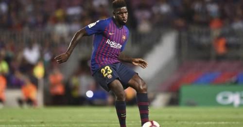 Барселона будет играть без Юмтити минимум до середины февраля