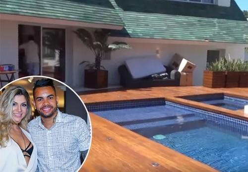 Жена хавбека Шахтера показала семейный дом в Бразилии