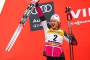 Тур де Ски. Остберг выиграла масс-старт и вышла в лидеры