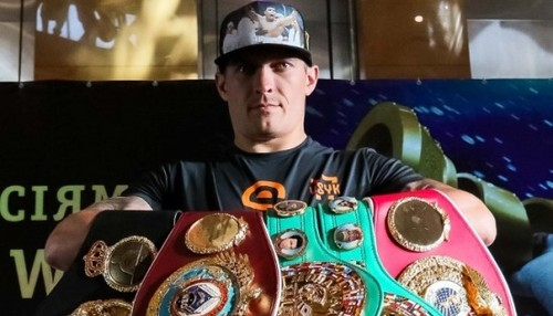 BoxingScene: Усик - лучший боксер 2018 года