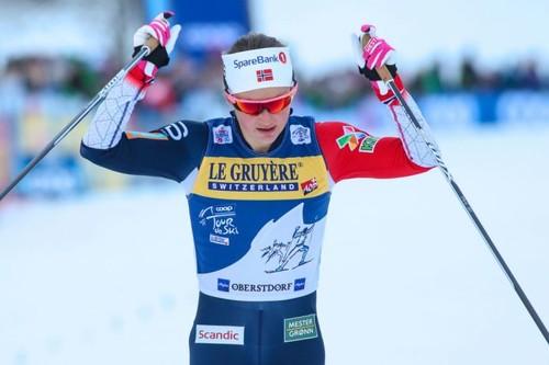 Тур де Ски. Остберг выиграла преследование и укрепила лидерство