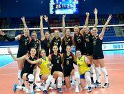 Украинские волейболистки обыграли команду Черногории со счетом 3:0