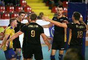 Мужская сборная Украины победила Македонию