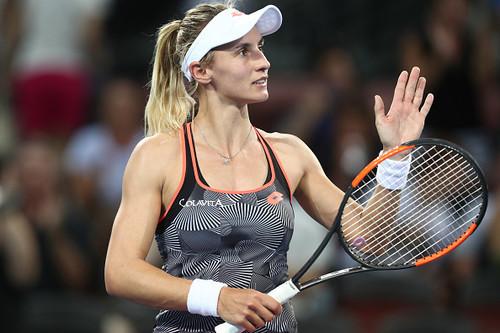 Леся ЦУРЕНКО: «В матче с Осакой я показывала теннис высокого уровня»