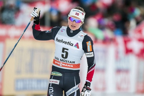 Тур де Ски. Остберг выиграла масс-старт, неудача Диггинс