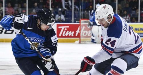 Молодежный ЧМ по хоккею. Финляндия в финале обыграла США