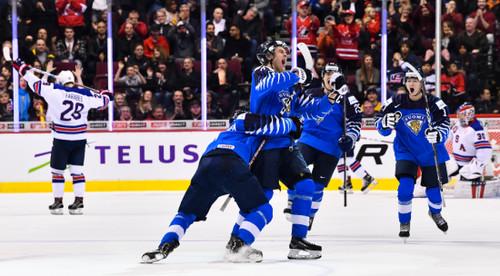 Молодежный ЧМ по хоккею. Видео обзор финала США - Финляндия